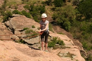 Enchanted Rock Rappeling