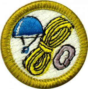 Rock Climbing Merit Badge