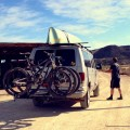 Adventure van in Big Bend